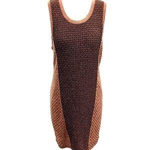 Rag and Bone Brown and Bronze Dress